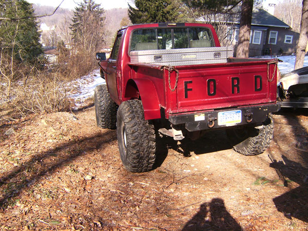 Truck cab on bronco frame--any pics??? - Ford Bronco Forum